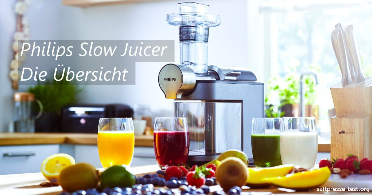 Vergleich Philips Slow Juicer