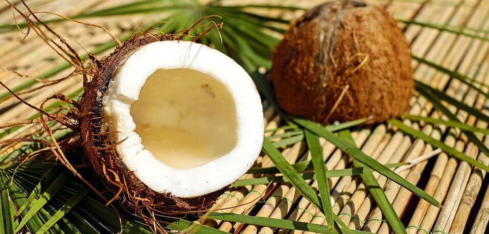 Kokoswasser für die Ernährung